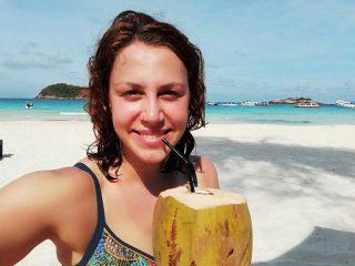 Frische Kokosnüsse auf Pulau Redang