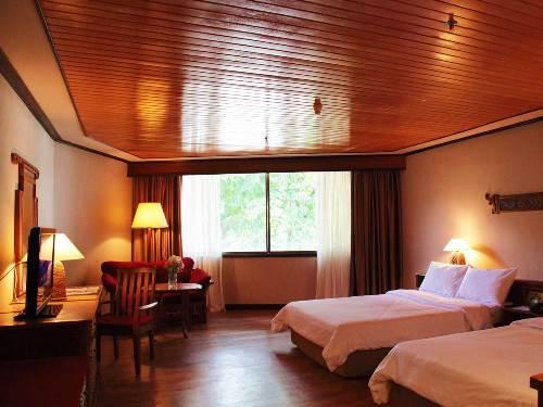 Gemütlich eingerichtete Zimmer