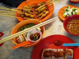 Malaysia Rundreise individuell - Malaiische Speisen in Kuala Lumpur