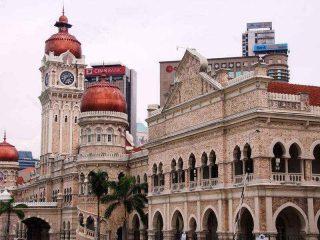 Sultan Abdul Samad Gebäude in Kuala Lumpur - Malaysia