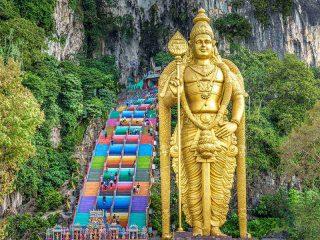 Erkunden Sie die Batu Caves - Malaysia Highlights