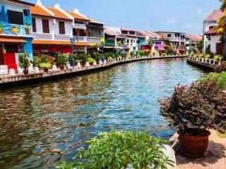Die Altstadt von Melaka