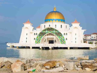 Die Moschee von Melaka