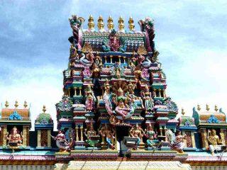 Indischer Tempel in Georgetown