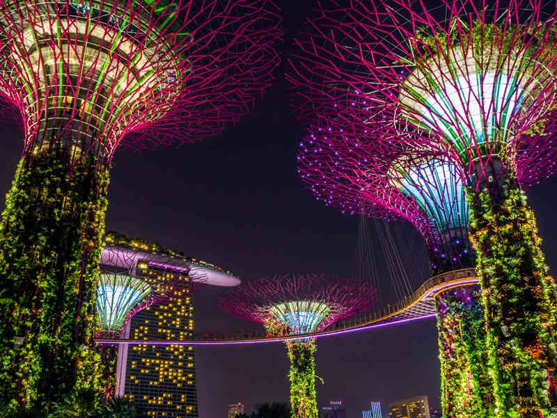 Ab Singapur Malaysia entdecken: Gardens by the bay