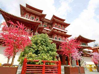 Ab Singapur Malaysia entdecken - Chinesischer Tempel