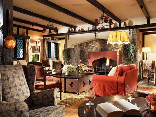 Lobby im Komfort Hotel in den Cameron Highlands