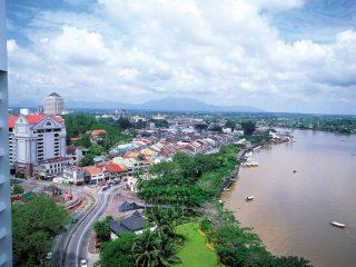 Kuching- die Stadt am Sarawak Fluss