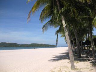 Sandstrand auf Langkawi