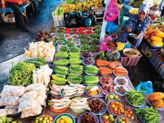 Lokaler Markt in Kota Kinabalu