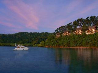 Pulau Gaya ist schnell mit dem Boot erreichbar