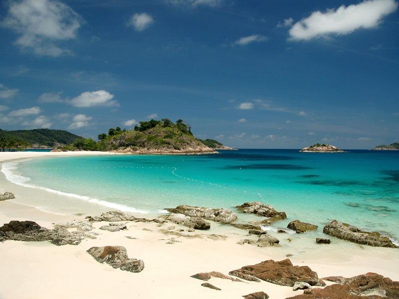 Palmenstrand auf Pulau Redang Island