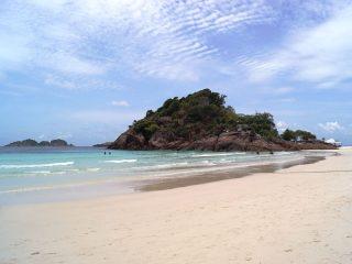 Weißer Strand auf Pulau Redang
