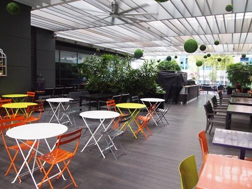 Das Café im Hotel
