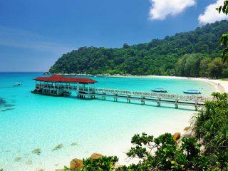 Wunderschöne Buchten in Malaysia