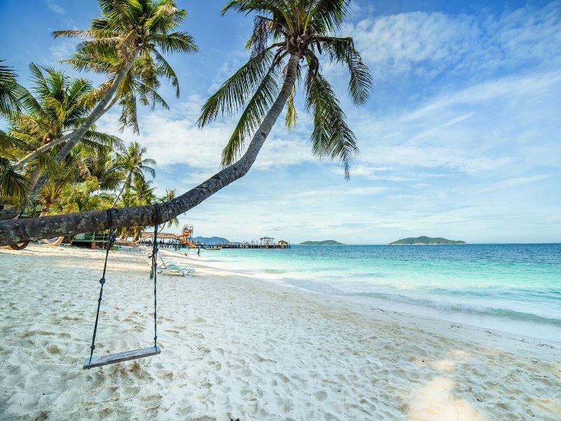 Ruhe und Entspannung auf Rawa Island