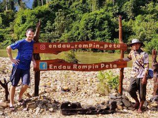 Kleine Insel im Endau Rompin Nationalpark