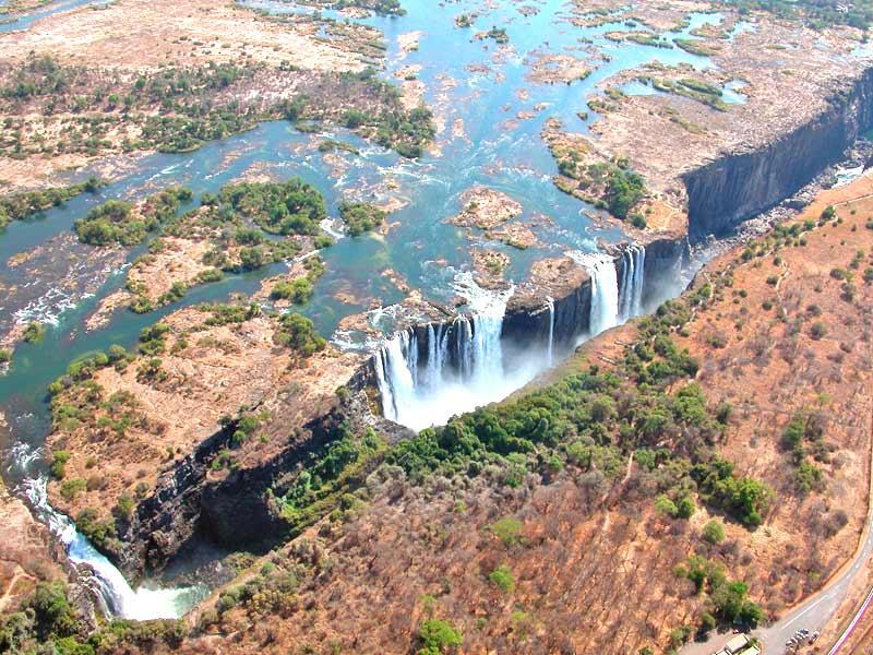 Victoria Falls Wasserfälle Rundreise Simbabwe