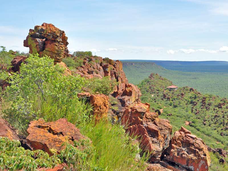 Waterberg Nationalpark Namibia Landschaft Serengeti