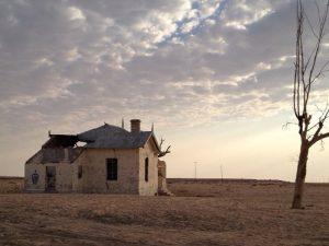 Bahnhof Garub in Namibia