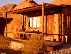 Genießen Sie den Ausblick von Ihrem Chalet der Special Stay Unterkunft bei Aus