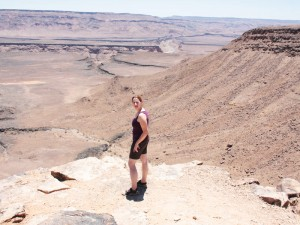 Ausblick in den Fish River Canyon