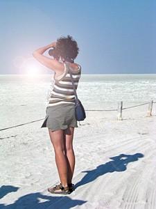 Die Salzpfannen in Botswana