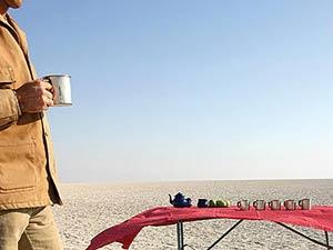 Botswana Makgadikgadi Salzpfannen Camping