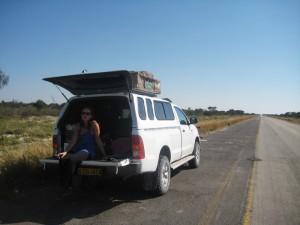 Botswana - Reisende mit dem Allradwagen unterwegs - Rundreise Namibia, Botswana und Victoria Falls