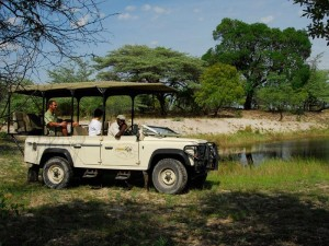Caprivi Streifen Mudumu Nationalpark Safari