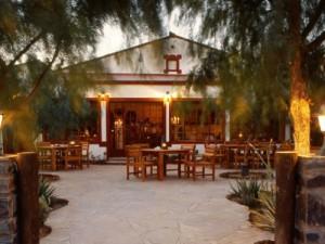 Blick auf das Restaurant der Fish River Canyon Unterkunft