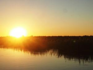 Caprivi Sonnenuntergang