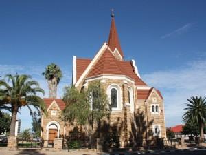 Namibia - Christuskirche Windhoek - Etosha