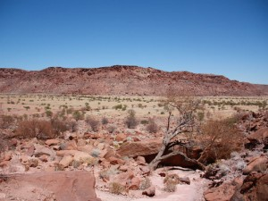 Namibia - Landschaft im Damaraland - 2 Wochen Namibia