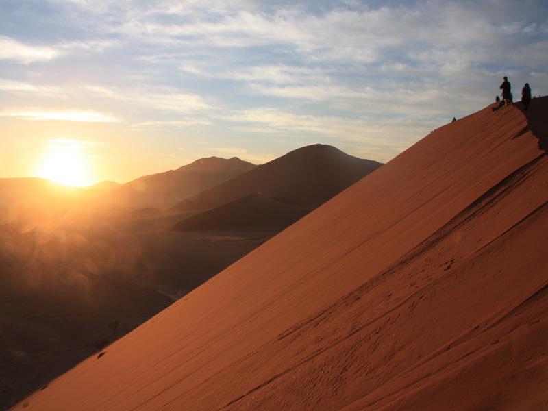 Namibia - Sanddünen - Etosha