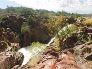 Epupa Falls Wasserfälle Namibia Kaokoveld