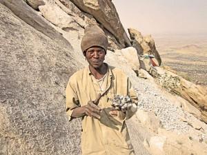 Namibia - Erongo Gebirge - Einheimischer