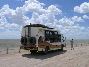 Join-In Safaribus im Etosha Nationalpark