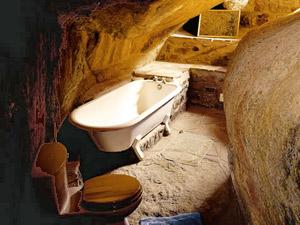 Einzigartige Architektur: Das Badezimmer