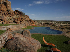 Fish River Canyon Lodge mit Pool