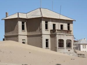 Haus in der Geisterstadt Kolmannskuppe