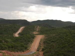 Bergpass bei Grootberg