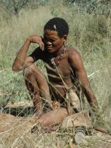 Namibia - Kalahari Wüste - Begegnung mit den San - Ankerkraut