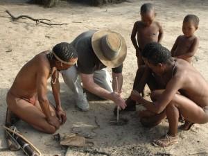 Namibia - Gobabis - Zu Besuch bei den San - San Namibia