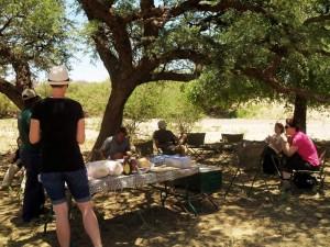 Pause auf dem Campingplatz während Ihrer Join-In-Reise