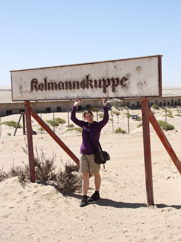 Lüderitz Geisterstadt Kolmanskoppe Namibia Rundreise