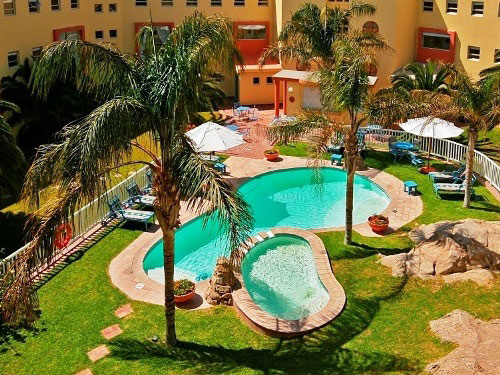 Hotel-Pool in Lüderitz