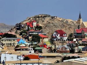 Lüderitz war die erste deutsche Stadt in Südwestafrika