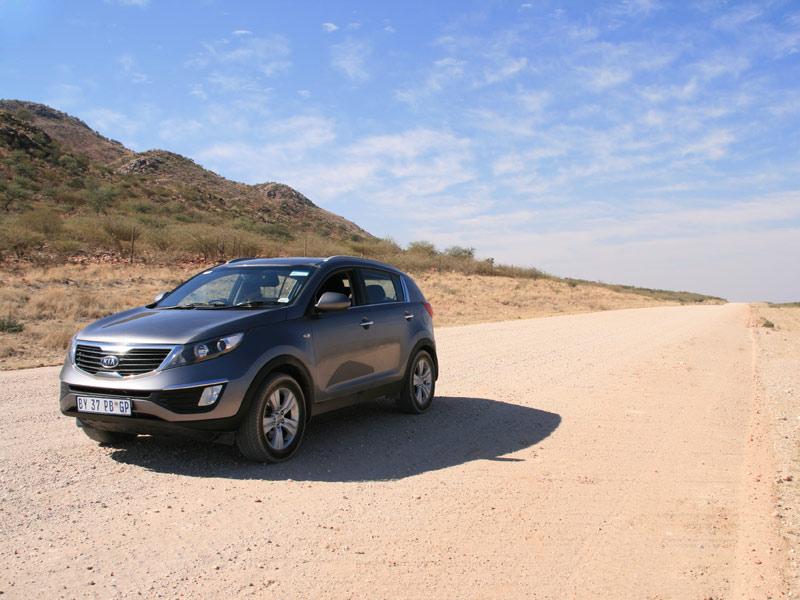 Mit dem Mietwagen in Namibia unterwegs