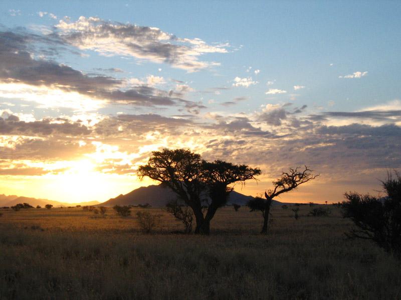 Namibia - weite Landschaften - Namibias Norden